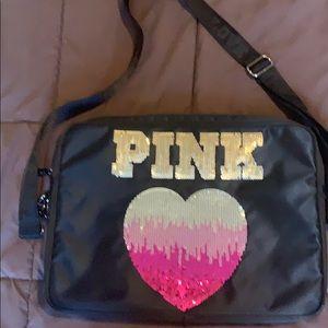 PINK Detachable laptop carrying case 🌸